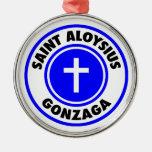 Santo Aloysius Gonzaga Ornamento Para Reyes Magos