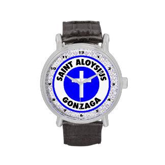 Santo Aloysius Gonzaga Relojes De Pulsera