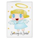 Santo anjo do Senhor Cartao