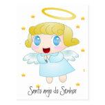 Santo anjo do Senhor Cartoes Postais