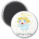 Santo anjo do Senhor Imãs De Geladeira