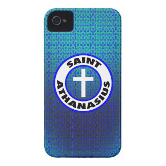 Santo Athanasius iPhone 4 Case-Mate Protectores