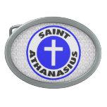 Santo Athanasius Hebillas Cinturón