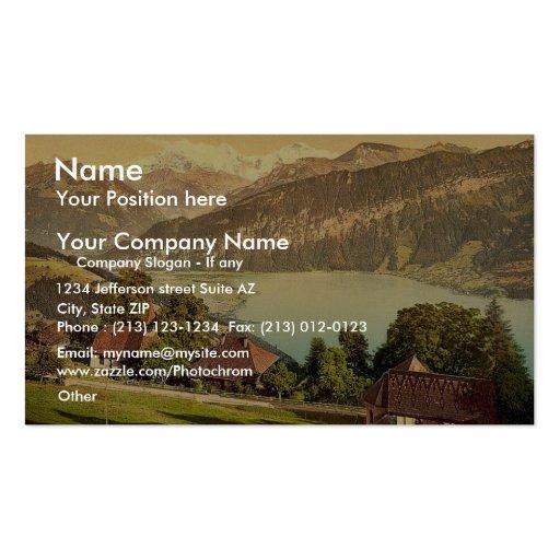 Santo Beatenberg, Bernese Oberland, cl de Suiza Tarjetas De Visita