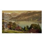 Santo Beatenberg, Bernese Oberland, cl de Suiza Tarjeta De Negocio