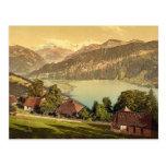 Santo Beatenberg, Bernese Oberland, cl de Suiza Tarjeta Postal