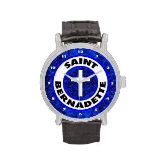 Santo Bernadette Reloj