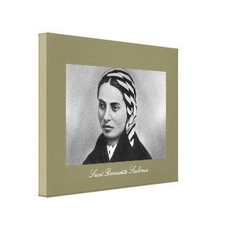 Santo Bernadette Soubirous Impresión En Lienzo Estirada
