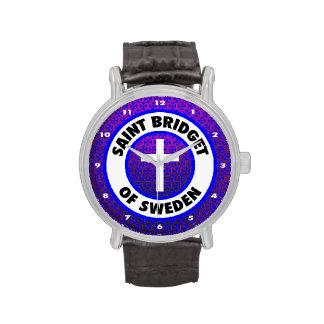 Santo Bridget de Suecia Relojes De Pulsera