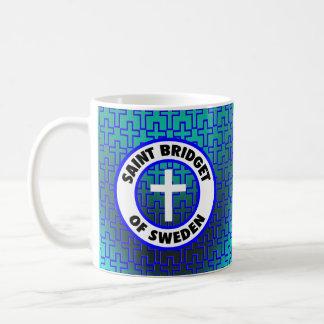 Santo Bridget de Suecia Taza