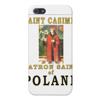 SANTO CASIMIRO iPhone 5 FUNDA