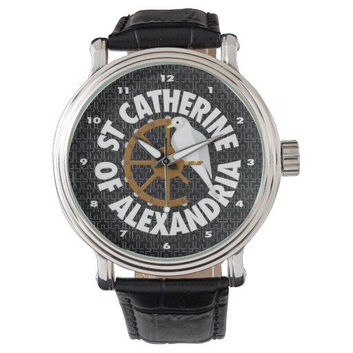 Santo Catherine de Alexandría Reloj De Mano