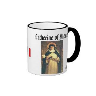 SANTO CATHERINE de la taza de Siena
