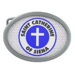 Santo Catherine de Siena Hebillas Cinturon