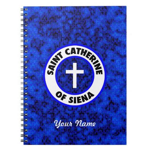 Santo Catherine de Siena Libro De Apuntes