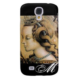 Santo Catherine del monograma de Alexandría Funda Samsung S4