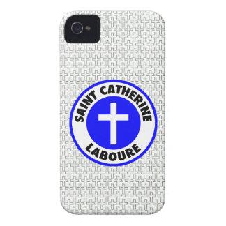 Santo Catherine Laboure iPhone 4 Case-Mate Fundas