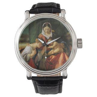 Santo Catherine y Maria de Jesús del bebé Reloj