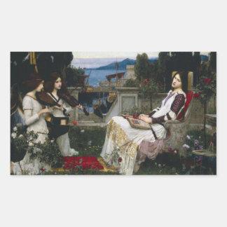 Santo Cecilia (1895) Rectangular Altavoces