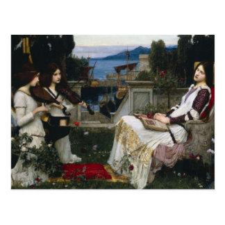 Santo Cecilia (1895) Tarjetas Postales