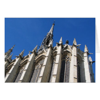 Santo Chapelle París Tarjeta De Felicitación