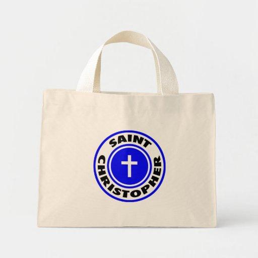 Santo Christopher Bolsas De Mano