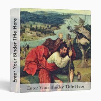 Santo Christopher. Por Hieronymus Bosch (el mejor