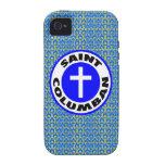 Santo Columban iPhone 4/4S Fundas