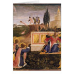 Santo Cosmas, santo Damián del Fra Angelico- salva Felicitación
