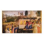 Santo Cosmas, santo Damián del Fra Angelico- salva Plantilla De Tarjeta De Negocio