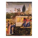 Santo Cosmas, santo Damián del Fra Angelico- salva Tarjetas Postales
