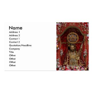 Santo Cristo dos Milagres Business Card