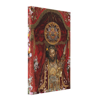 Santo Cristo dos Milagres Canvas Print