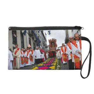 Santo Cristo procession Wristlet Clutches