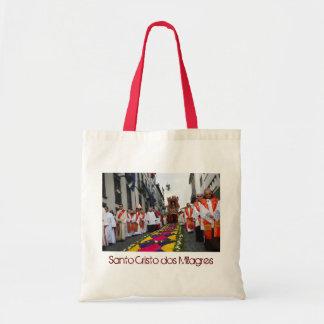 Santo Cristo procession Budget Tote Bag