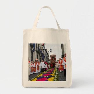 Santo Cristo procession Grocery Tote Bag