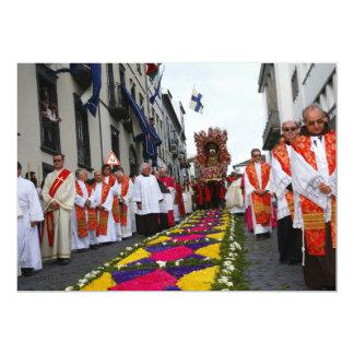 Santo Cristo procession Card