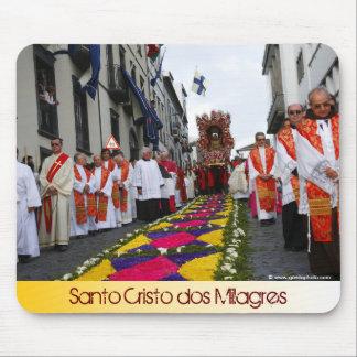 Santo Cristo procession Mouse Pad