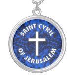 Santo Cyril de Jerusalén Pendiente
