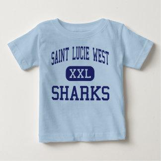 Santo del oeste Lucie del puerto de los tiburones Polera