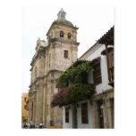 Santo Domingo Church Postcard