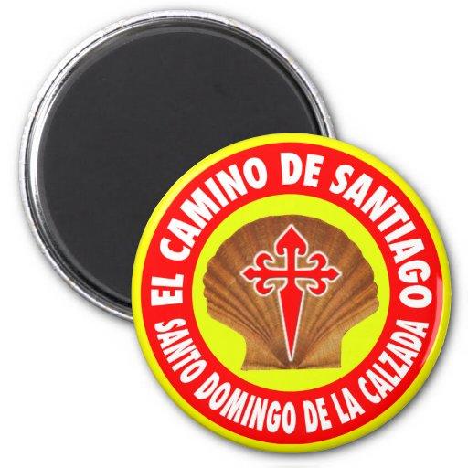 Santo Domingo de la Calzada Imán Redondo 5 Cm