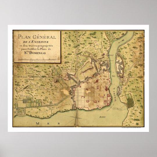 Santo Domingo Dominican Map 1805 Poster on managua map, la romana map, yucatan peninsula map, san salvador map, el salvador map, la havana map, port au prince on map, saint-domingue map, jamaica map, dominican republic map, caribbean map, punta cana map, havana cuba map, san juan map, quito map, belmopan map, toronto map, haiti map, puerto rico map, caracas map,