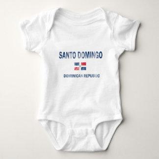 Santo Domingo Dominican Republic Designs Baby Bodysuit