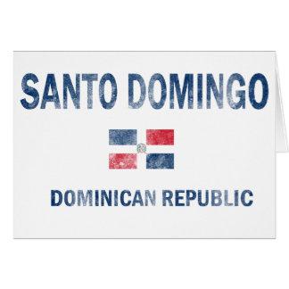 Santo Domingo Dominican Republic Designs Card