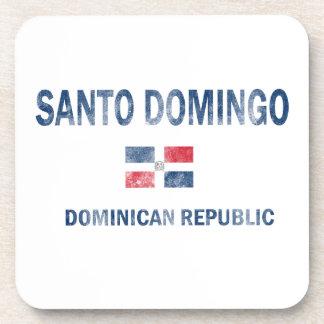 Santo Domingo Dominican Republic Designs Coaster