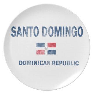 Santo Domingo Dominican Republic Designs Dinner Plate