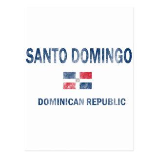 Santo Domingo Dominican Republic Designs Postcard