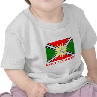 Santo Domingo flag with Name Tshirt
