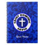 Santo Dominic Savio Libros De Apuntes